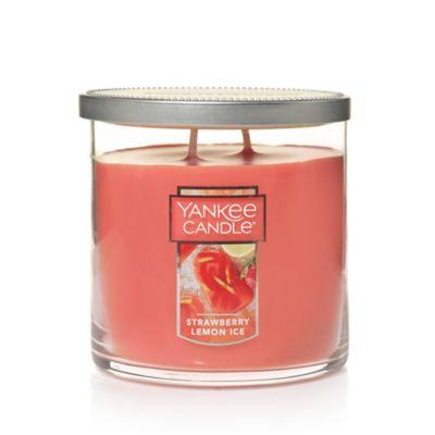Yankee Candle Strawberry Lemon Ice 2-Wick Medium Tumbler Candle
