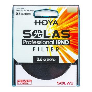 HOYA SOLAS ND-4 (0.6) 2 Stop IRND Neutral Density Filter (82mm)