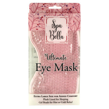 Spa Bella Ultimate Large Eye Mask, Pink
