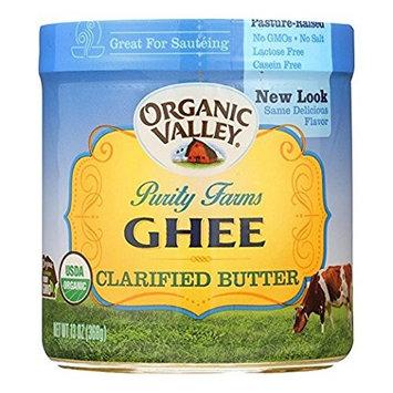 ORGANIC VALLEY Certified Ghee Clarified Butter 4Pack (13oz Each)