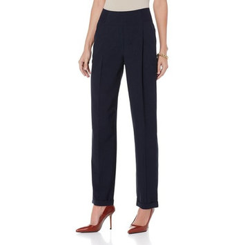 DG2 Diane Gilman Stretch Gaberdine Pull-On Trouser 454-593
