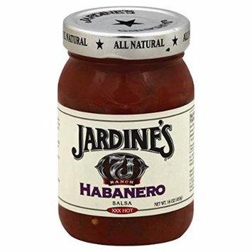 Jardines Salsa Xxxhot Ranch Habanero 16.0 OZ(Pack of 6)