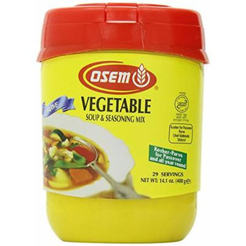 Osem Vegetable Soup & Seasoning Mix 14 oz, Kosher for Passover, Pack of 3 (Kosher for Passover)