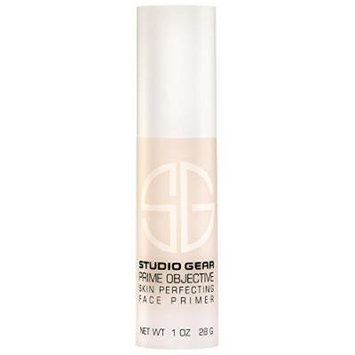 Studio Gear Prime Objective Protective Skin Perfecting Makeup Primer for Face, 1 ounce bottle