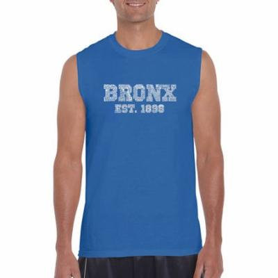 Los Angeles pop art Men's sleeveless t-shirt - popular neighborhoods in Bronx, NY