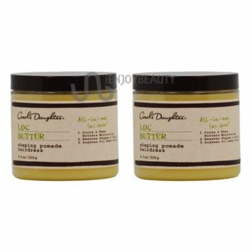 Carol's Daughter Loc Butter Shaping Pomade Hairdress 8 oz