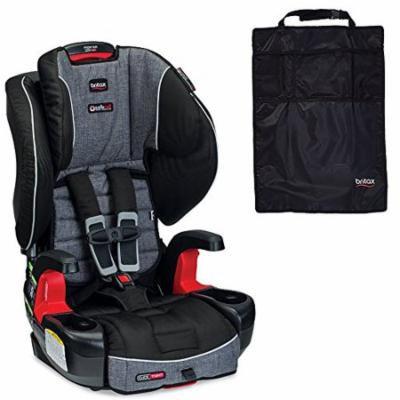 Britax Frontier ClickTight G1.1 Harness-2-Booster Car Seat & Kick Mats, Vibe