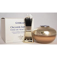 Guerlain Orchidee Imperiale Cream Foundation Brightening Perfection SPF25, No. 04 Beige Moyen, 1 Ounce