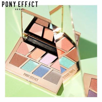 PONY EFFECT Master Eye Palette (Holographic Pastel) 11g