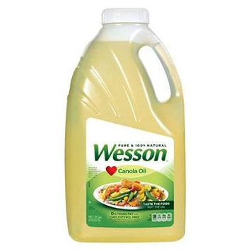 Pure Wesson Canola Oil - 1.25 gal (pack of 6)