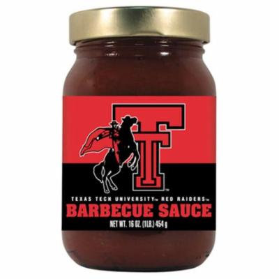 Hot Sauce Harrys 2844 TEXAS TECH Red Raiders BBQ Sauce Sweet & Smoky - 16oz-Pack of 12