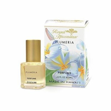 4 Bottles Royal Hawaiian Plumeria Perfume 0.22 oz. Each