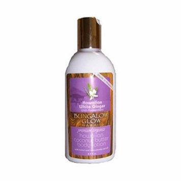 Hawaii Bungalow Organic Coconut Body Lotion 4 Bottles White Ginger