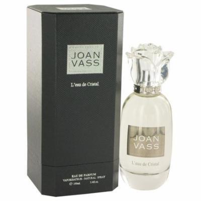 L'eau De Cristal by Joan Vass Eau De Parfum Spray 3.4 oz