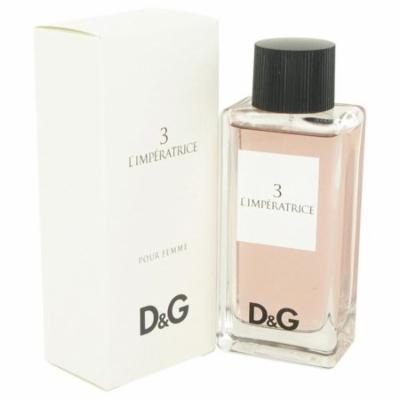 L'Imperatrice 3 by Dolce & Gabbana Eau De Toilette Spray 3.3 oz