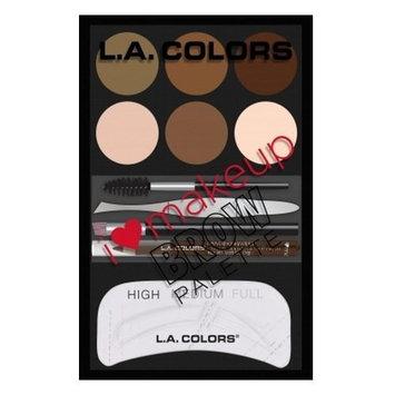 LA COLORS BROW PALETTE LIGHT-MEDIUM by LA Colors