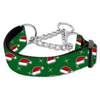 Santa Hats Nylon Ribbon Collar Martingale Large