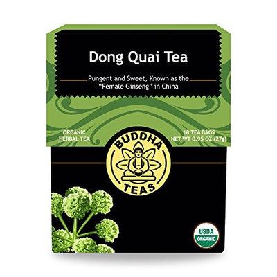 Buddha Teas Dong Quai Root 100 Percent Organic Herbal Tea 18 Bags Per Packet