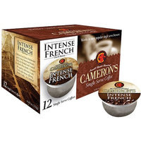 Cameron's Intense French Single Serve Coffee Cups-12-Pack