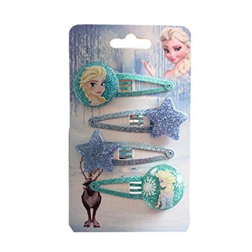 Princess Essar of Ice and Snow Goody Snap Hair Clips, 4-count