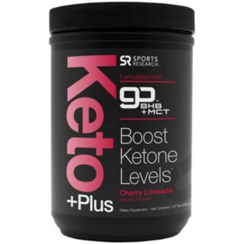 Keto Plus - CHERRY LIMEADE (16 Ounces Powder) by Sports Research Corporation at the Vitamin Shoppe