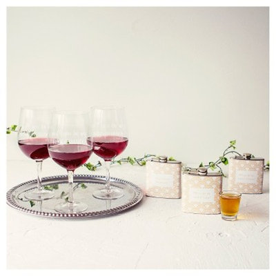 Maid of Honor Wine Glass Clear XL