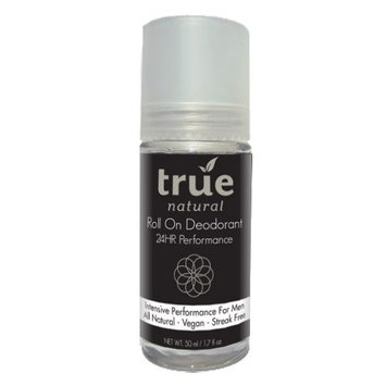 True Natural Intensive Roll On Deodorant for Men, All Natural