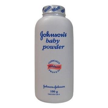 Johnson & Johnson Baby Powder 100 Gram (3.5 Oz) (Pack of 12)