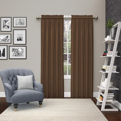 Pairs To Go 2-pack Teller Window Curtains