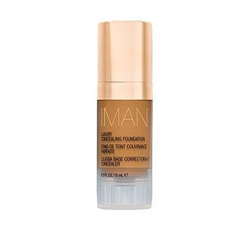 IMAN Cosmetics Concealing Foundation, Medium Skin, Clay 4