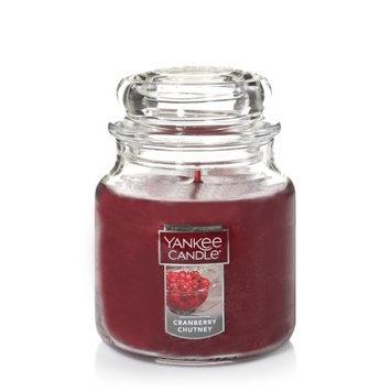 Newell Brands Yankee Candle Medium Jar Candle, Cranberry Chutney