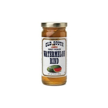 South Sweet Pickled Watermelon Rind 10 oz Jar (6 Pack)