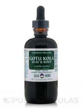 Gaia Herbs, Gotu Kola Leaf & Root Gaia Organic, Gaia Organic 4 oz