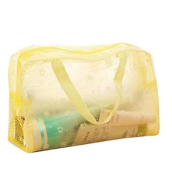 Staron Portable Travel Makeup Bag Women Waterproof Beauty Cosmetic Bag Laundry Mesh Wash Bag Makeup Package