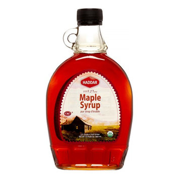 Haddar Organic Maple Syrup, 12 Oz