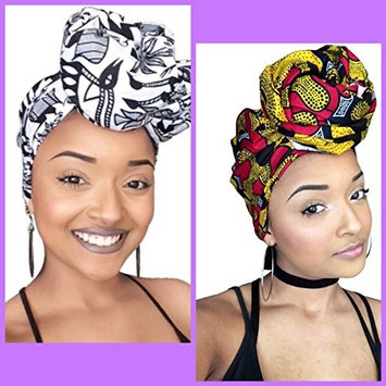 Khari & White and Black Headwrap collection African Print