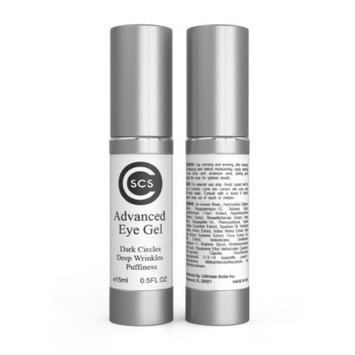CSCS Advanced Eye Gel - Firms and Diminish Fine Lines, Wrinkles, Crows Feet and Under Eye Puffiness Treatment - .5 oz