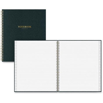 Blue sky Notebook - 80 Sheets - Twin Wirebound 6in. x 8.50in. - Charcoal Cover