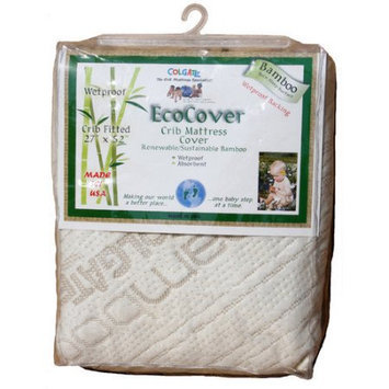 Colgate EcoCover Fitted Mattress Cover - Crib