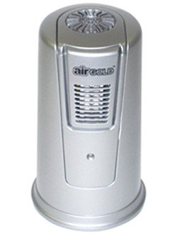 Koolatron XJ100GM Air Gold Portable Air Purifier with Low Voltage Indicator HI Mode Cycles and 4 C-size Batterie in