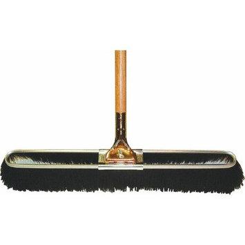 PRO-SOURCE - 3 Inch Long, Metal Block, Polypropylene Bristle, Outdoor and Street Sweep Push Broom