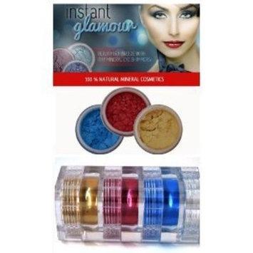 ITAY Beauty Mineral 3 Stack Shimmer Eye Shadow Makeup Color Caribean Samba (#2,#8,#39)