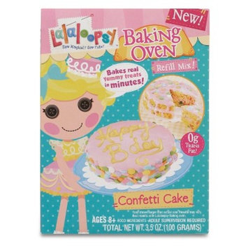 Lalaloopsy Baking Oven Mix - Confetti Cake with Hot Pink Frosting