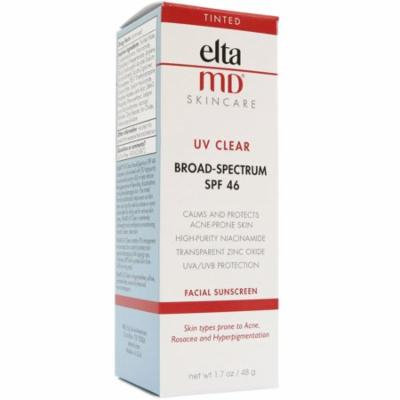 EltaMD Facial Sunscreen with Zinc and Tinted SPF 46 - 1.7oz - New in Box