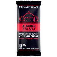Eating Evolved, PrimalChocolate, Almond & Sea Salt 72% Cacao, 2.5 oz (71 g) [Flavor : Almond & Sea Salt 72% Cacao]