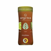 Argo Tea 4 Pack Glass Bottles 13.5floz Each (Mojitea)