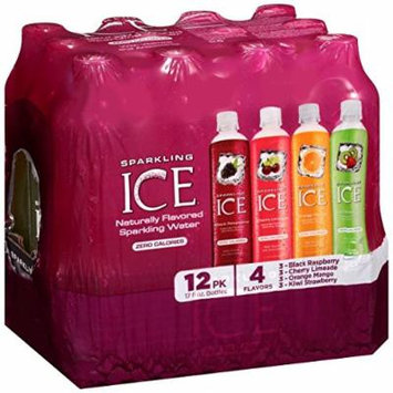 Sparkling Ice Variety Pack, 17 Ounce Bottles, 12 Count (Pack of 4)