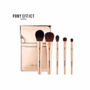 Pony Effect Mini Make-up Brush set