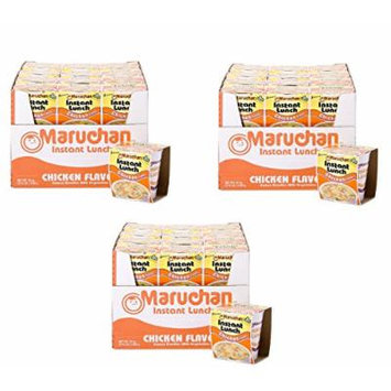 Maruchan Instant Lunch Chicken Flavored Cup Noodle, 24 Pack (3 Pack)
