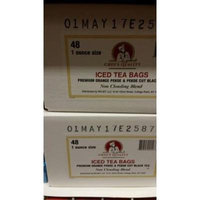 Chef's Quality Iced Tea Bags 1 oz (48 Pack)